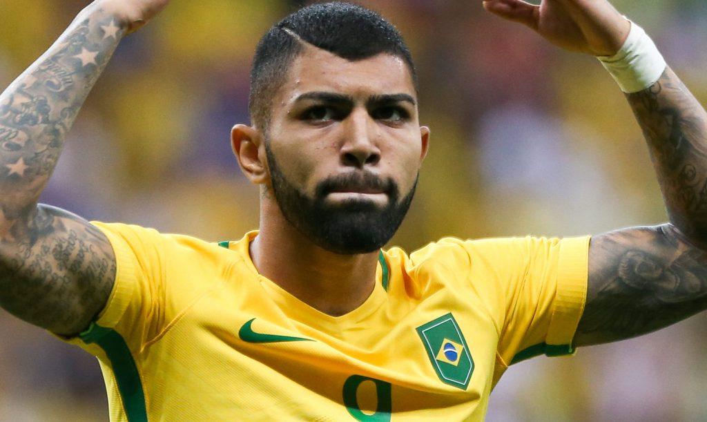 Brasília - A seleção Brasileira enfrenta a seleção do Iraque pela primeira fase do futebol olímpico, no estádio Mané Garrincha, em Brasília (Marcelo Camargo/Agência Brasil)