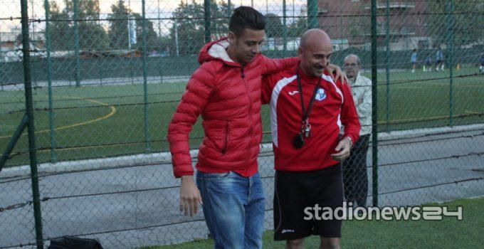 Lo Faso e mister Tutrone, l'allenatore che lo portò al Palermo