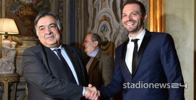 Baccaglin inizia l'incontro con le istituzioni partendo dal Teatro Massimo