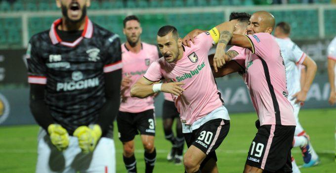 nestorovski esultanza Palermo perugia