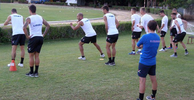 report allenamento del 10 agosto