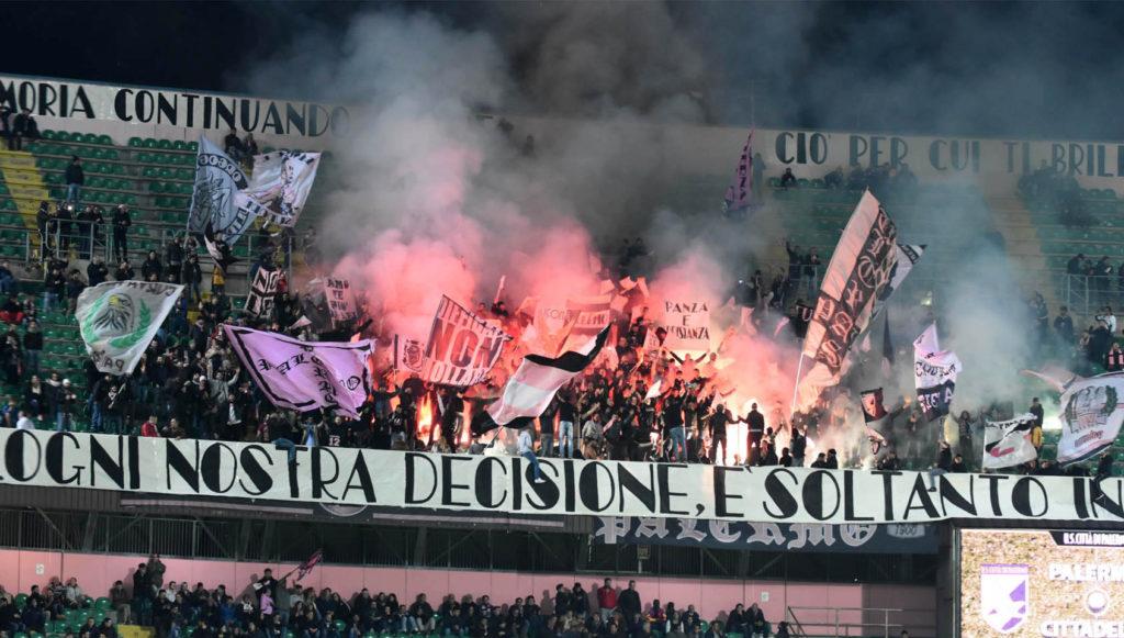 tifosi Palermo Cittadella Barbera Curva Nord
