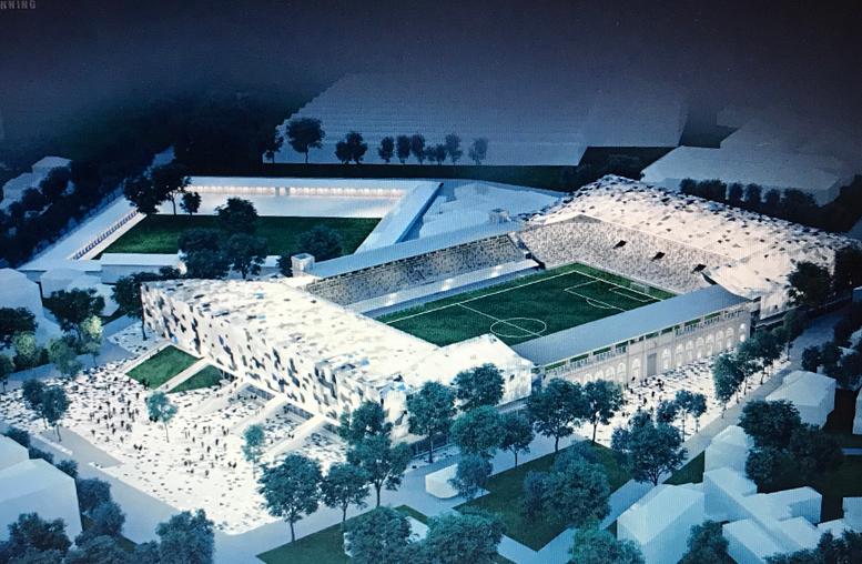 Atalanta, il nuovo stadio pronto nel 2020: le immagini