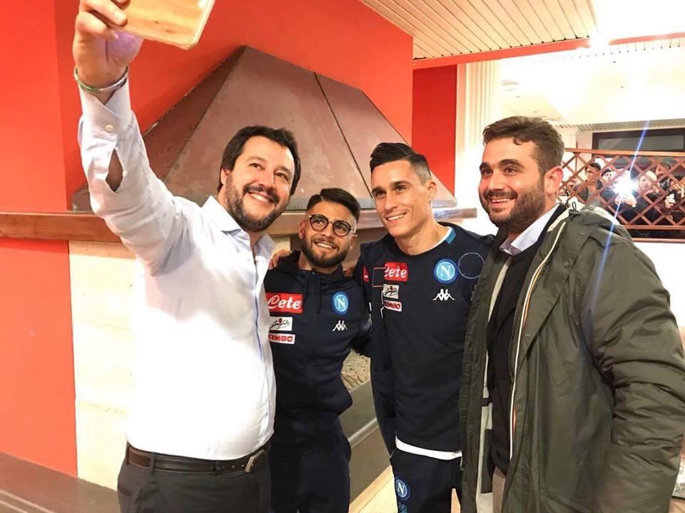 selfie-salvini-napoli-insigne-callejon