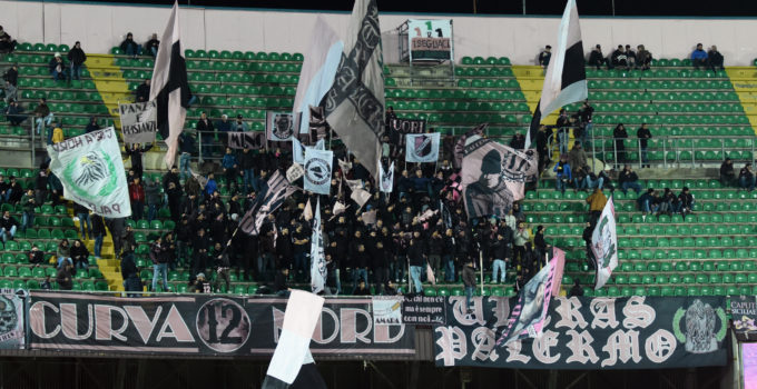 27022018_0811 Palermo Ascoli tifosi curva