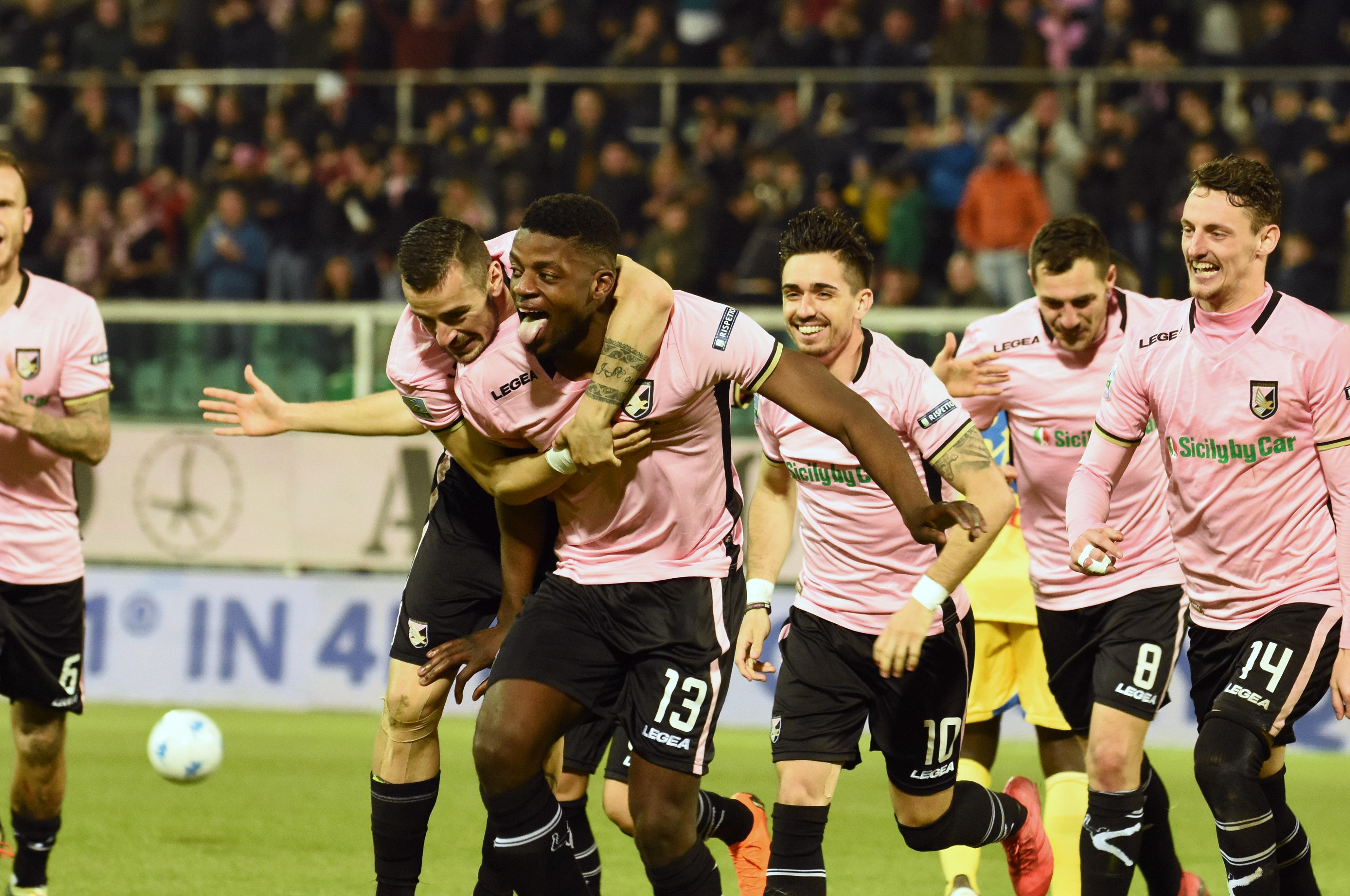 Palermo frosinone Gnahoré