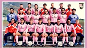 palermo 1989-1990, precedenti salernitana palermo