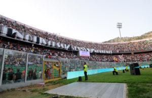 Tifosi Palermo Venezia Curva nord
