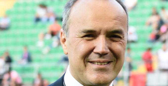 Palermo 15 Agosto 2018.Il presidente della Lega B, Mauro Balata.Mike Palazzotto