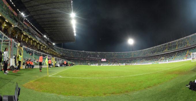 Palermo Pescara stadio Barbera Curva