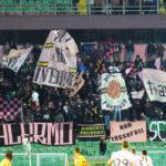 Palermo Benevento tifosi curva