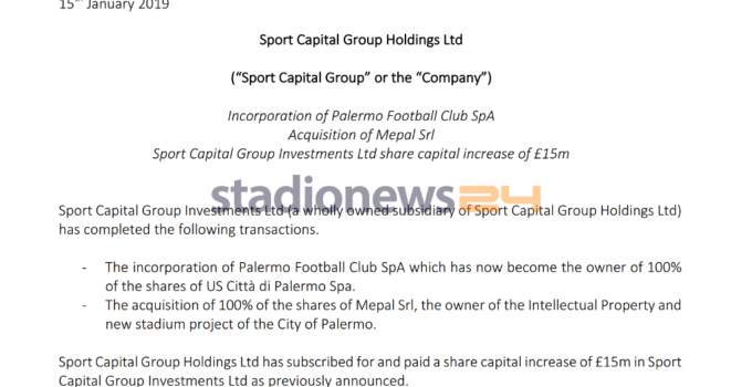 comunicato-sport-capital-group
