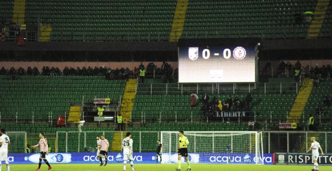 Palermo - Foggia stadio Barbera vuoto