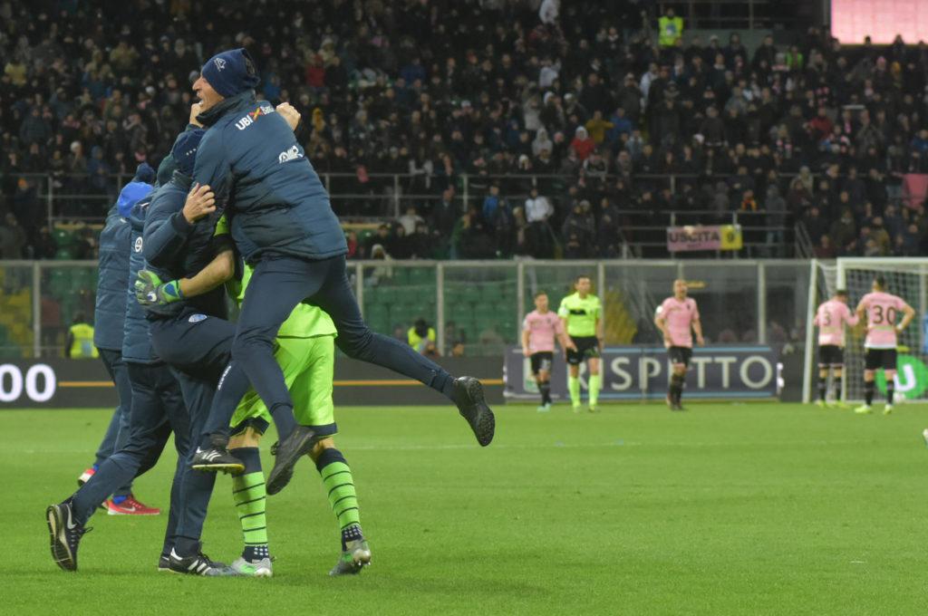 gol tremolada Palermo Brescia