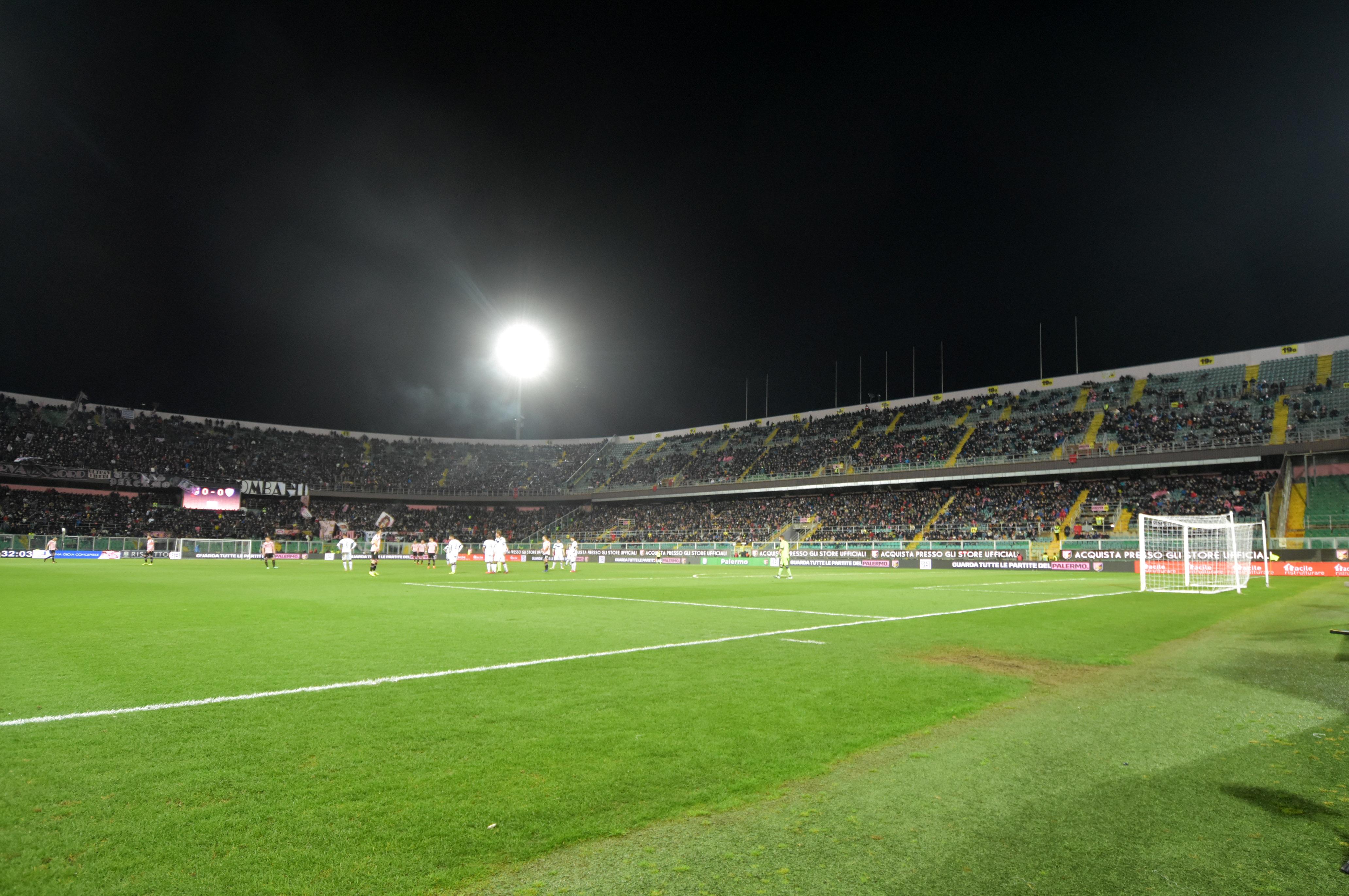 Stadio Barbera Palermo tribuna curva