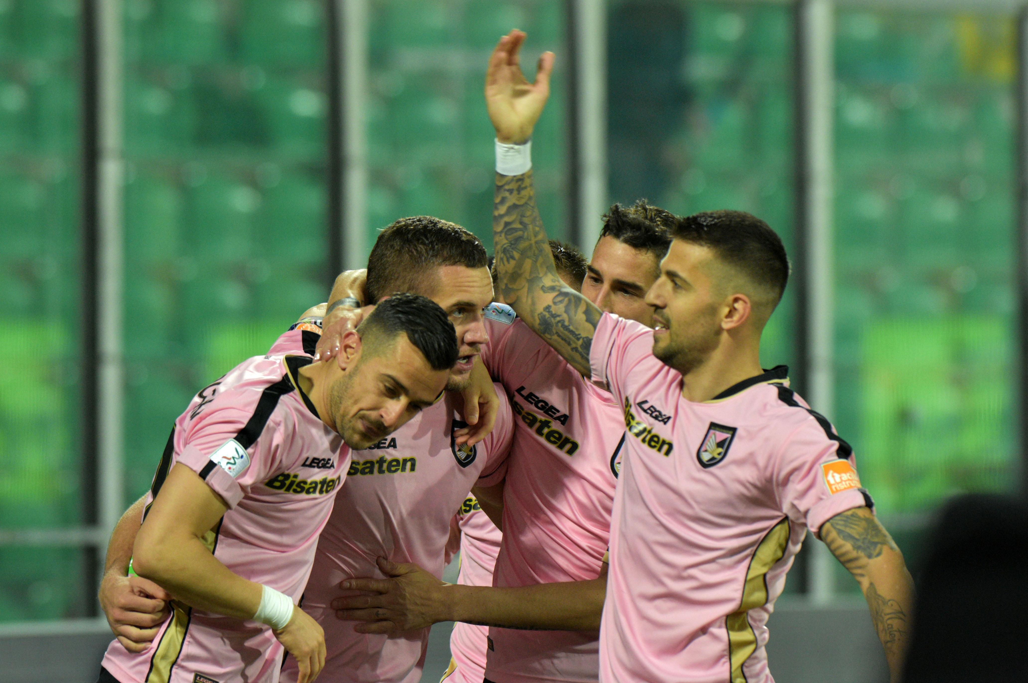PAlermo Lecce Puscas gol