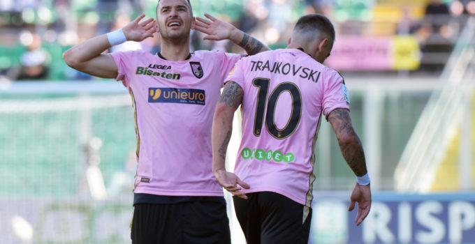 Palermo Carpi Nestorovski esultanza