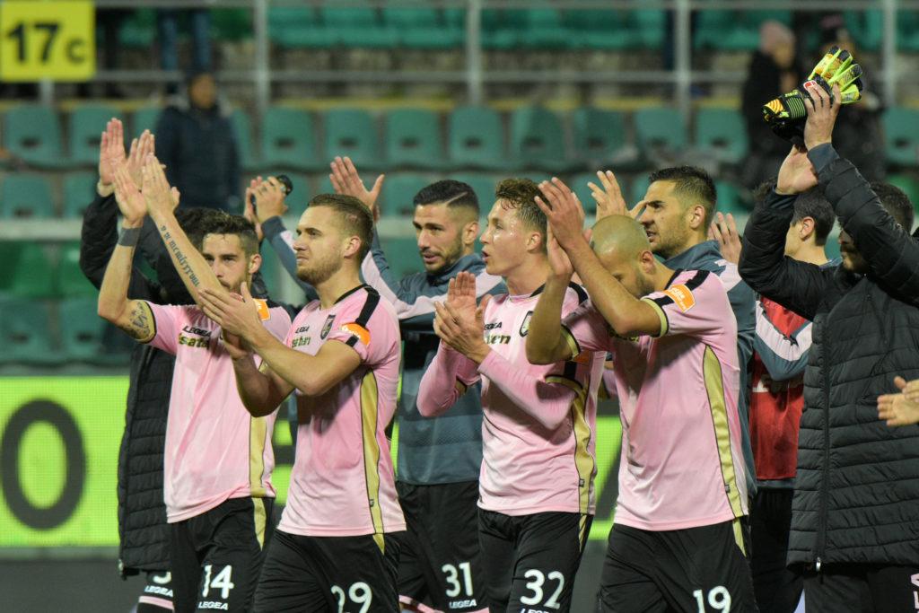 Palermo Lecce esultanza