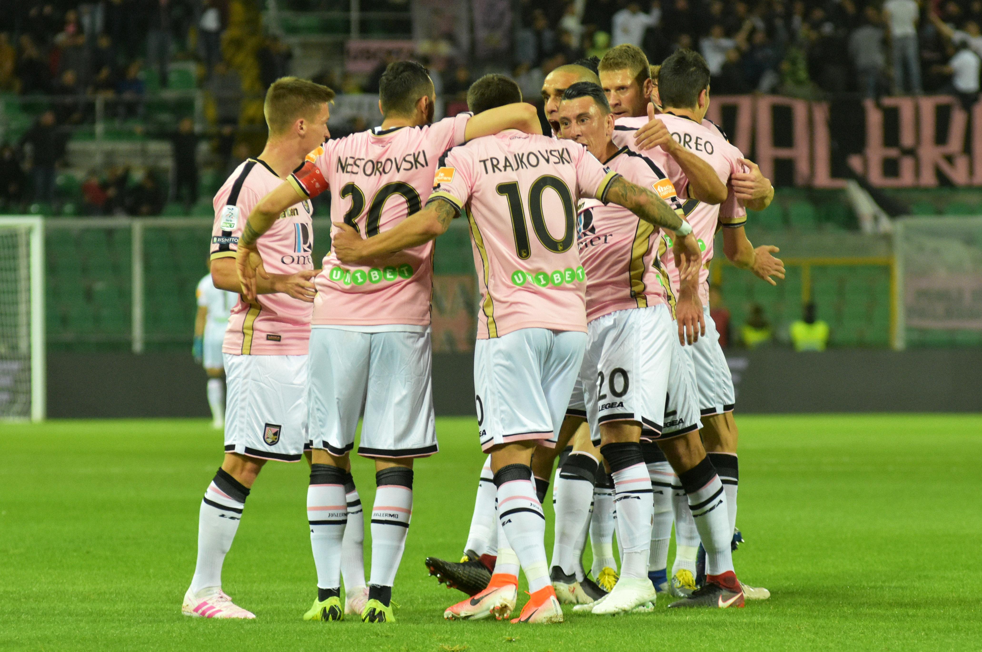 Esultanza Palermo