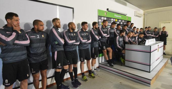 Conferenza stampa giocatori Palermo