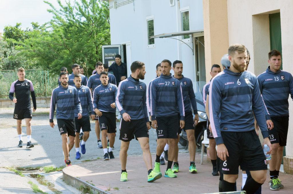 conferenza giocatori Palermo