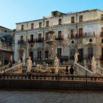 Palazzo delle Aquile - fontana