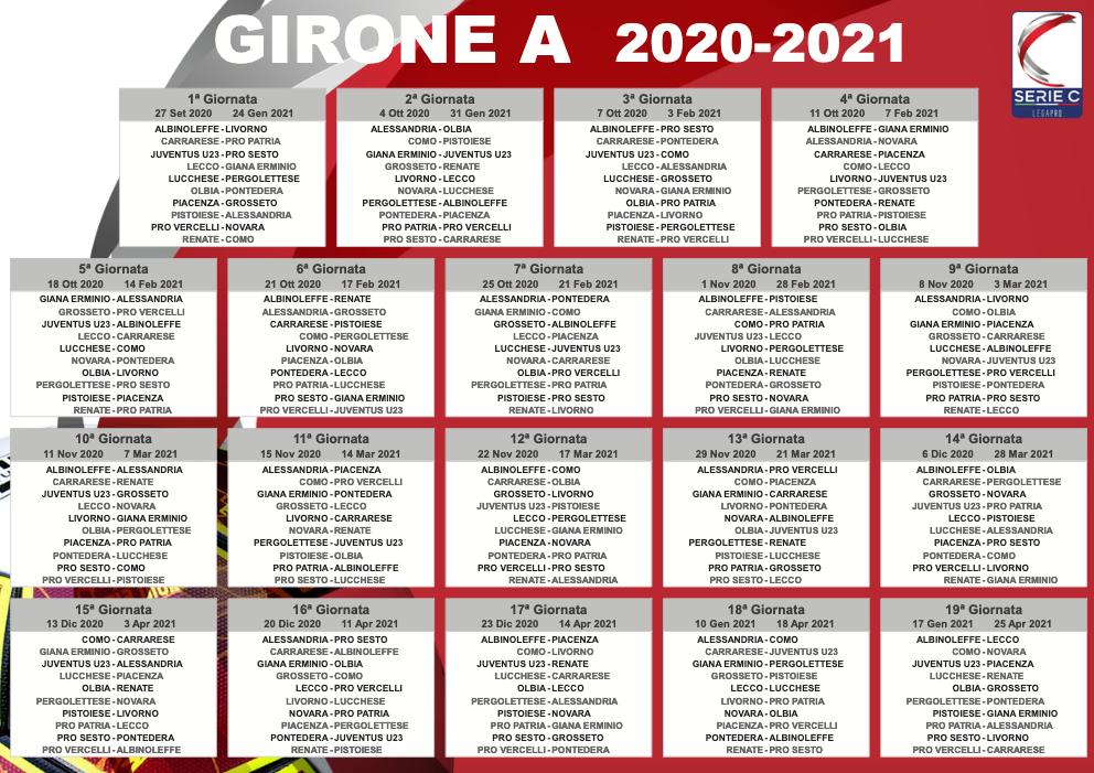 Serie C, il sorteggio del calendario: il Palermo parte contro il